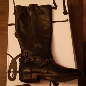 NEW Dolce Vita Black Leather Boot Size 9